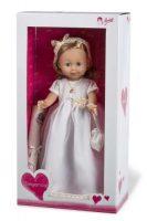 Arias ELEGANCE виниловая кукла 42 см.в платье с аксессуаром светлые волосы в коробке с окошком