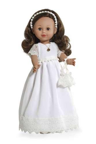 Arias ELEGANCE виниловая кукла 42 см. в одежде с аксессуаром темные волосы