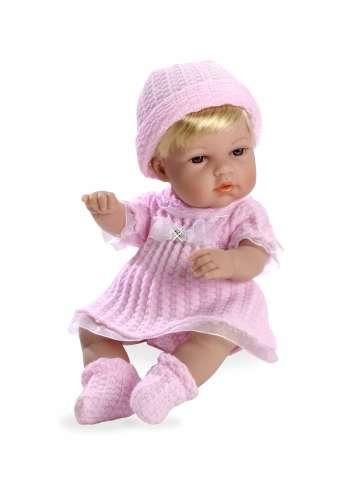 Arias ELEGANCE кукла виниловая 33 см с кристаллами SWAROWSKI в розовой одежде
