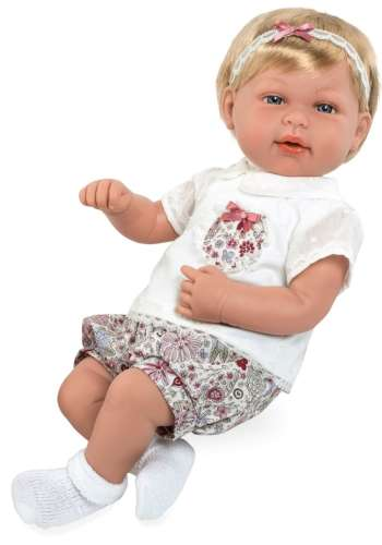 Arias Elegance кукла 45 см. в одежде мягкое тело с соской