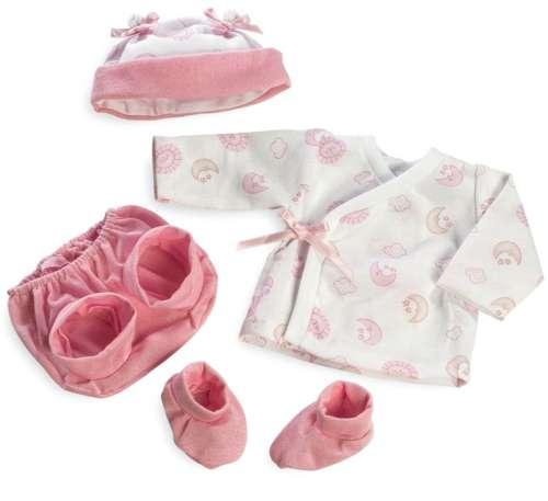 Arias Elegance набор одежды для куклы (шапочка, штанишки, пинетки, кофточка)