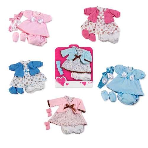Arias Elegance набор одежды для куклы 33 см., 6 видов в ассортименте