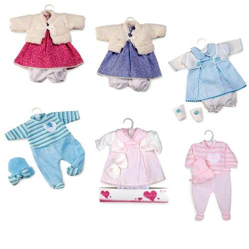 Arias Elegance набор одежды для куклы 42 см., 6 видов в ассортименте