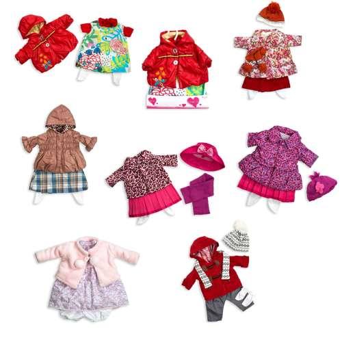 Arias Elegance набор одежды для куклы 50 см., 6 видов в ассортименте