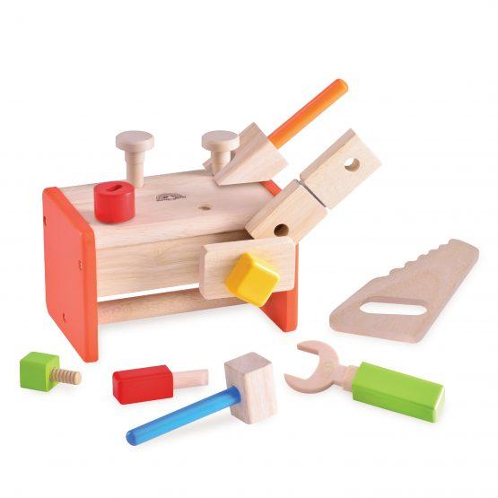 Игровой набор «Краcный ящик с инструментами»