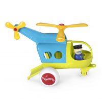 Модель вертолета «Fun Color» 30см с двумя фигурками
