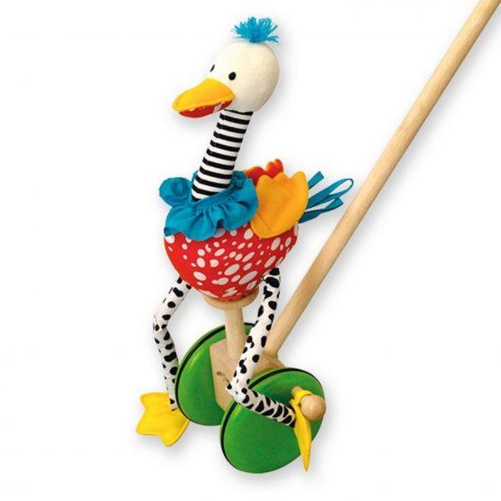 Игрушка-каталка «Веселый Фламинго»