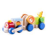 Деревянная игрушка «Веселый поезд Сафари»