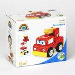 Деревянная игрушка-конструктор «Пожарная машина, Miniworld»