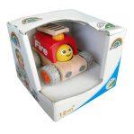 Деревянная игрушка «Пожарная машина с улыбкой, Miniworld»